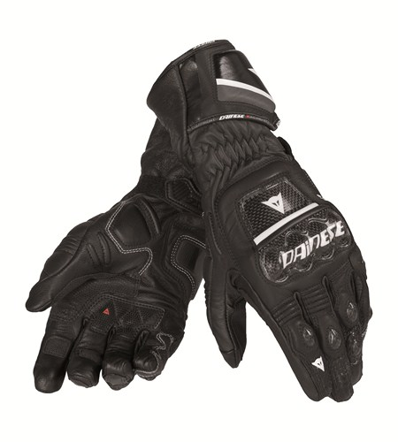 Dainese Druids ST leather gloves black-black-black