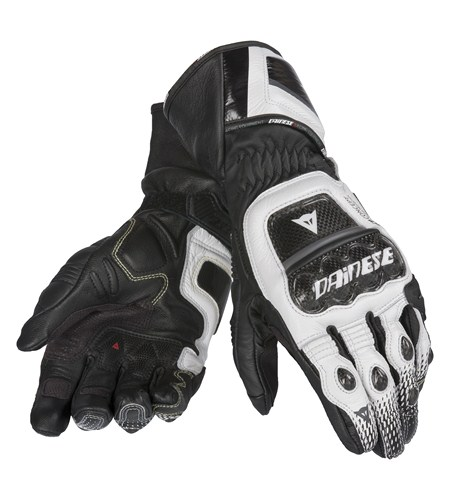 Dainese Druids ST leather gloves black-white-anthracite