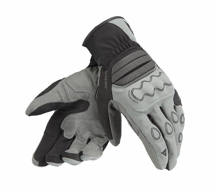 Guanti moto Dainese Veleta X-Trafit Gore-tex antracite nero carb