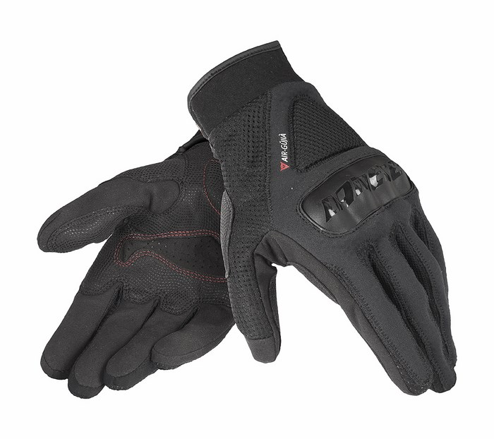 Motorcycle Gloves Dainese Air Gujia Black