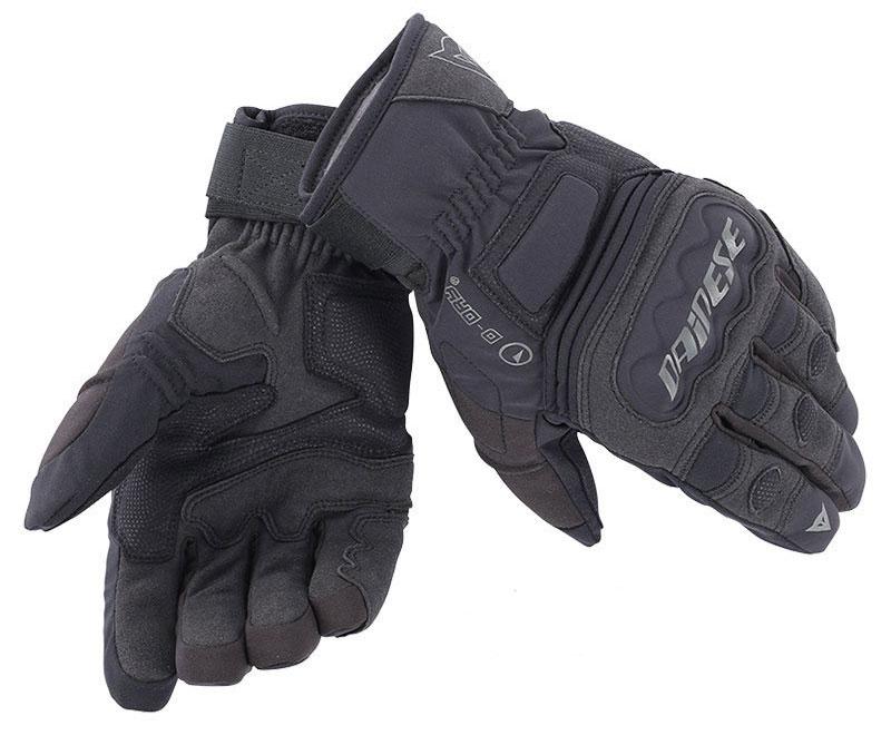 Guanti moto invernali Dainese Clutch Evo D-Dry Nero