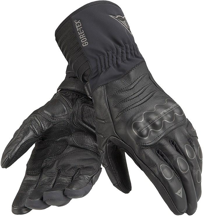 Dainese Ergotour GTX X-Trafit leather winter gloves Black