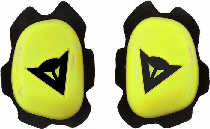 Knee Sliders Dainese Knee Slider B60D11 Yellow Black