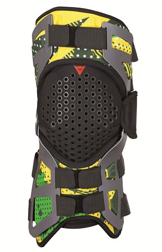 Dainese Tutore support for knee joint green-light green-yellow