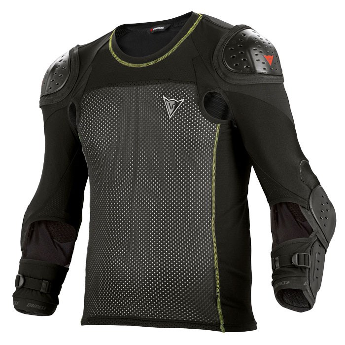Dainese protections Hybrid mesh with E1 Shirt Black