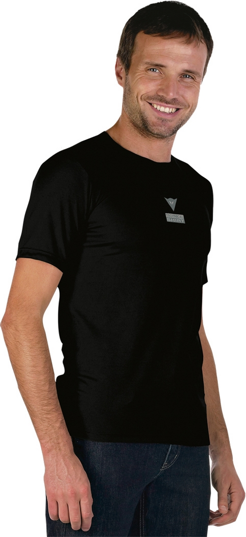 T-shirt Dainese Race in Coolmax nero