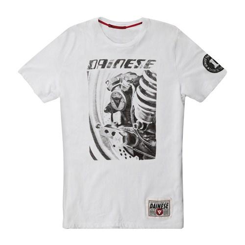 Dainese Rear Brake T-shirt white
