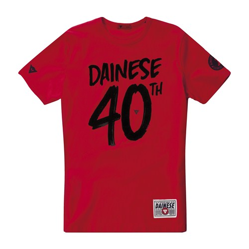 T-Shirt Dainese 40 rosso