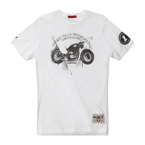 Dainese Dark Custom T-Shirt white