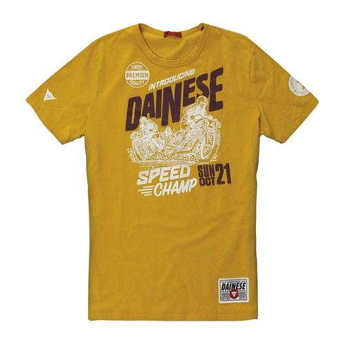 T-Shirt Dainese Speed Champ giallo