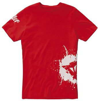 Dainese A-SPLASH KID T-Shirt red