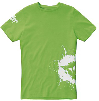 Dainese A-SPLASH KID T-Shirt green