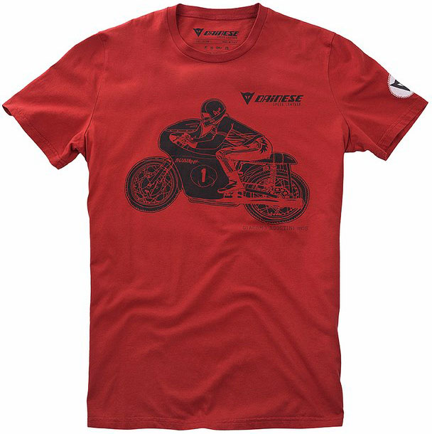 T-shirt Dainese H-1 coral