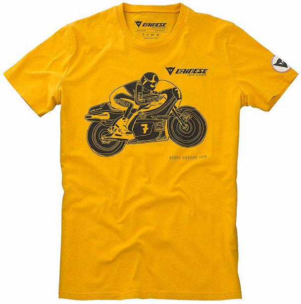 T-shirt Dainese H-1 Mustard