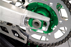 Chain adjuster Kite KTM Orange
