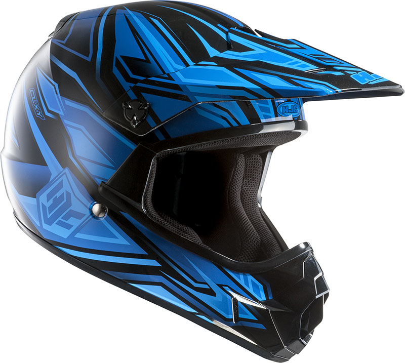 Cross helmet HJC child CLXY Fulcrum MC2
