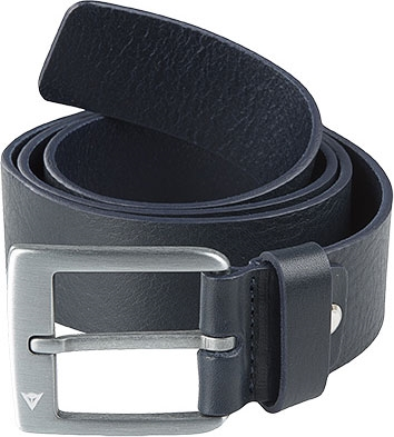 Dainese Leather Belt Midnight Blue