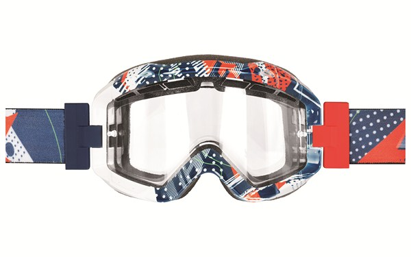 Dainese DNS Goggles blue-red-white
