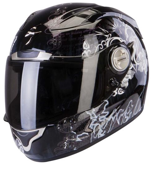 Scorpion Exo 1000 Air Astral full face helmet Black Chameleon