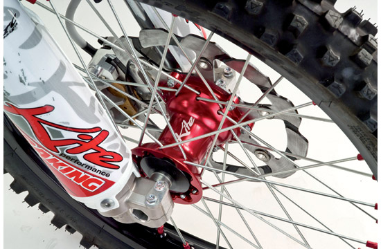 Front wheel 160x21 Honda Red Kite
