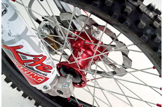 Ruota anteriore Kite MX Enduro 160x21 Honda Rosso