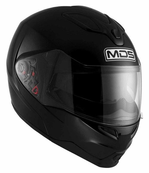 Casco moto modulare Mds by Agv MD200 Mono nero