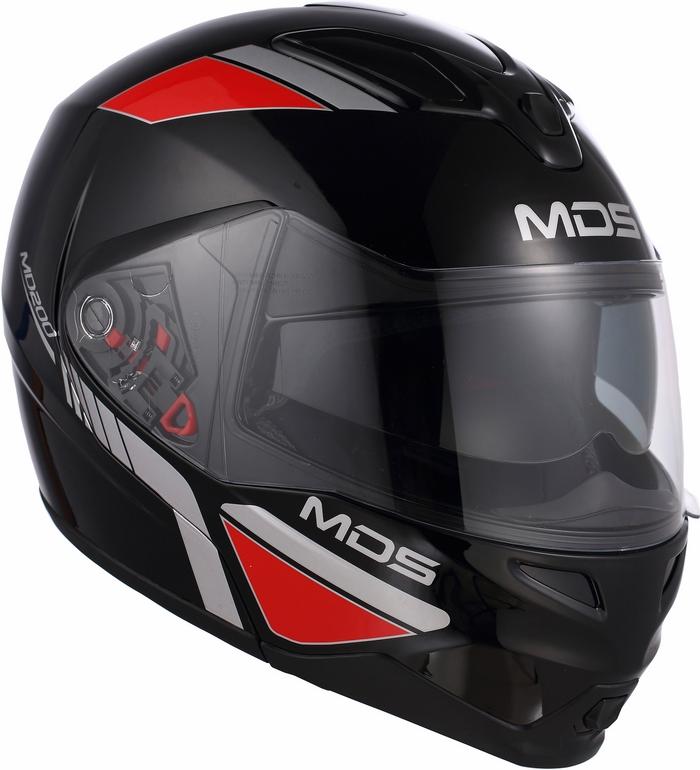 Mds by Agv MD200 Multi Traveller black helmet