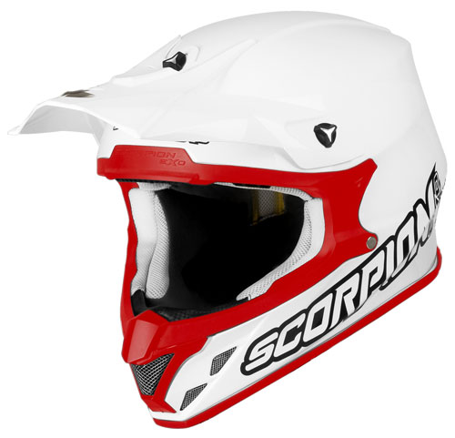 Scorpion VX 20 Air off road helmet White Red