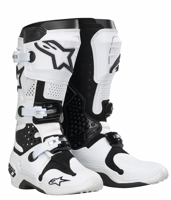 Stivali moto off road Alpinestars Tech 10 - Bianco