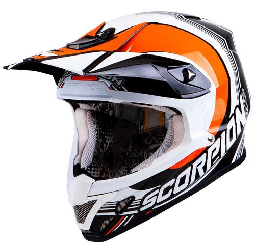 Scorpion VX 20 Air Spot off road helmet Black Orange