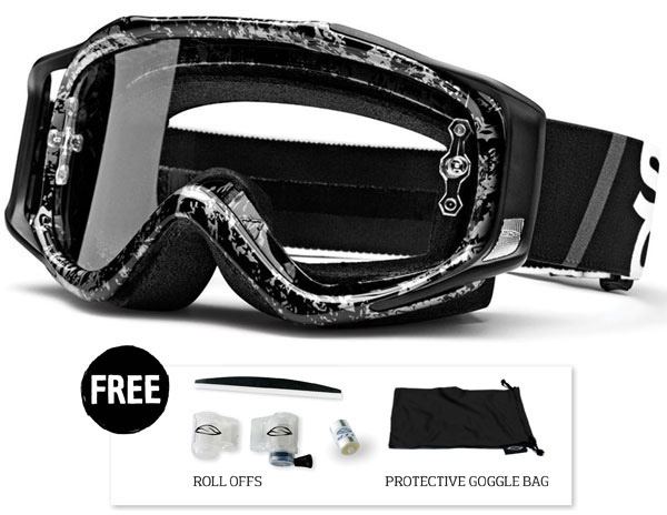 Smith Fuel V2 Sweat-X Black-silver Team goggle