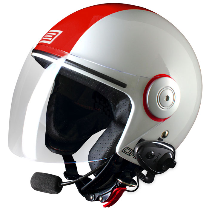 Source jet helmet with intercom Ready Arena Kie