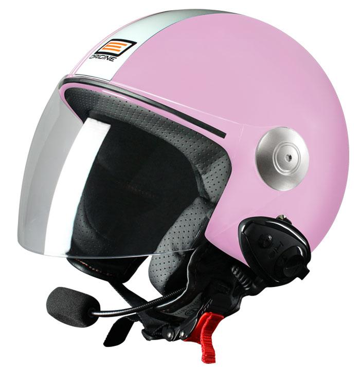 Source jet helmet with intercom Ready Tony Rose Kie