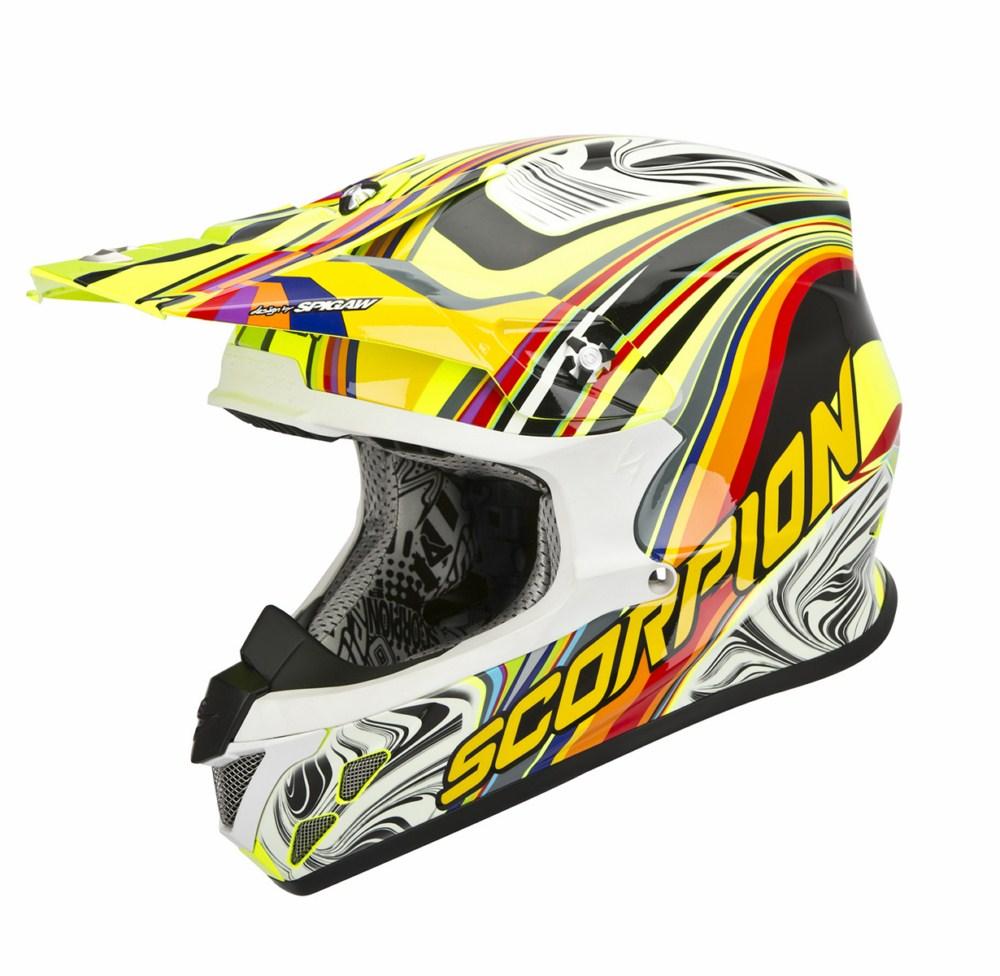 Scorpion VX 20 Air Sym cross helmet multicolor