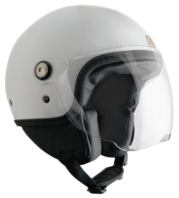 Origine Mio Jet helmet White