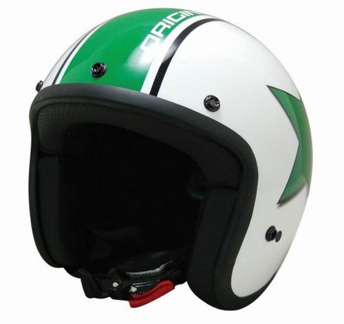 Helmet Origine Primo Astro Bianco - green