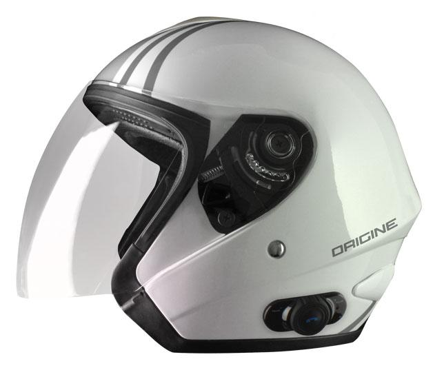 Origine Tornado Tango jet helmet with intercom Blink G2