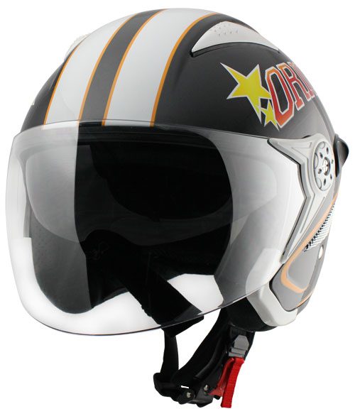 Origine Falco College Jet Helmet Black