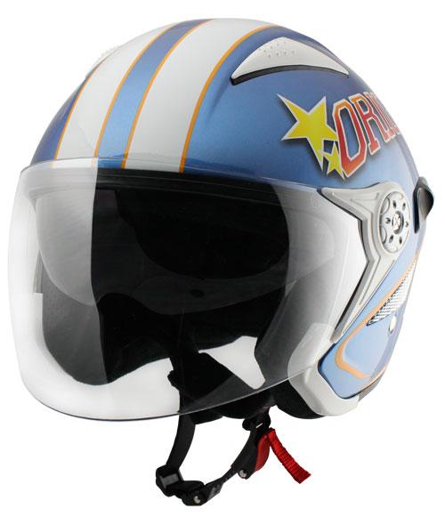 Origine Falco College Jet Helmet Blue