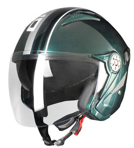 Origine Falco Brera Jet Helmet Green