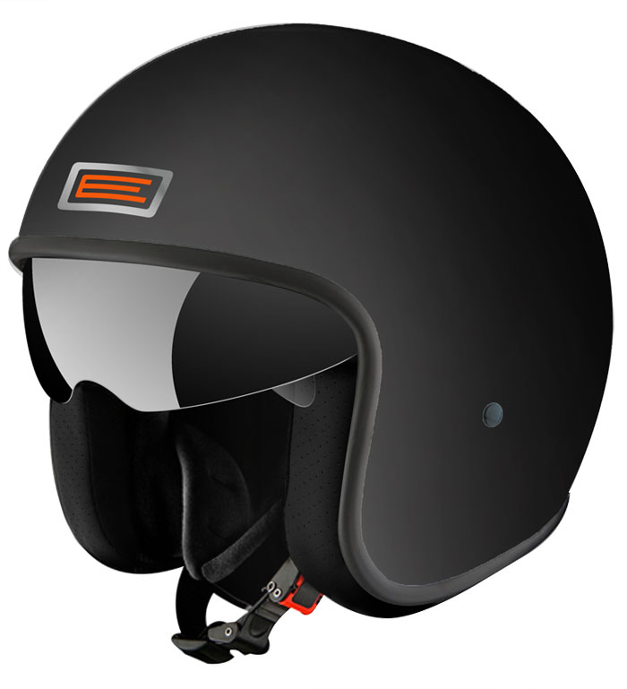 Casco jet Origine Sprint Nero opaco