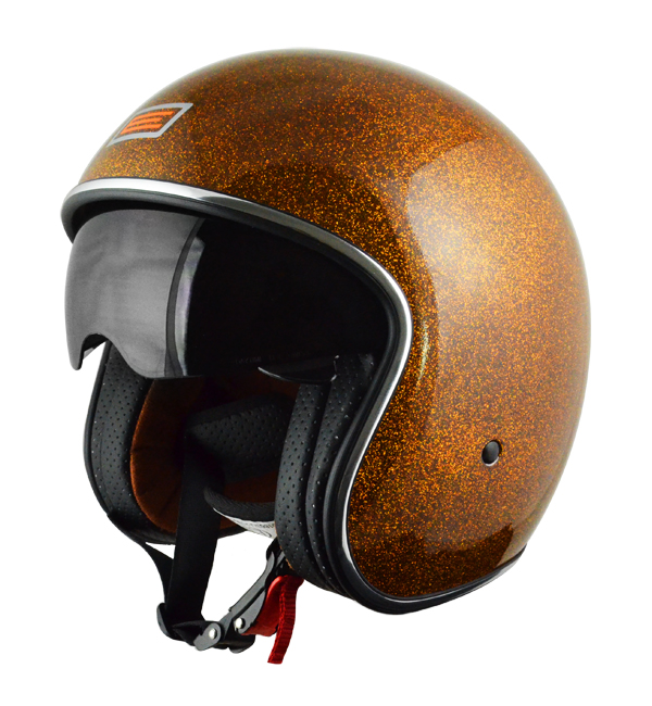 Source Sprint Jet Helmet Orange