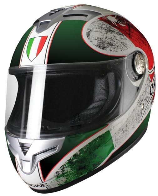 Origine Golia Italia Full face helmet Green