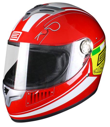Full face helmet Origin Goliath Scuderia Red