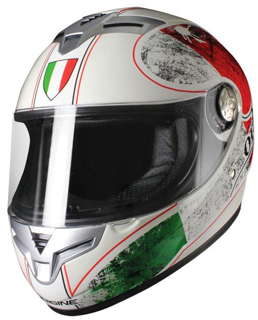 Full face helmet Origin Goliath Italian White