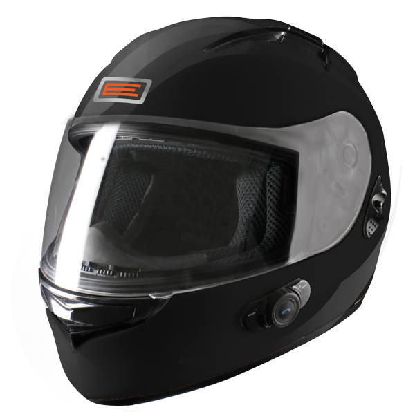 Casco integrale Origine Vento 2 con interfono Blinc G2 Nero