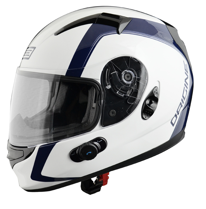 Full face helmet with intercom Origin Wind 2 spline Blinc G2 Bl