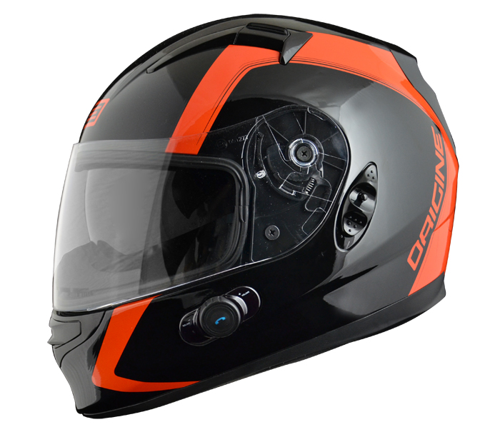 Casco integrale Origine Vento 2 Spline con interfono Blinc G2 Ar