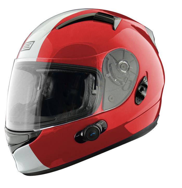 Full face helmet with intercom Origin Wind 2 Tony Ross Blinc G2