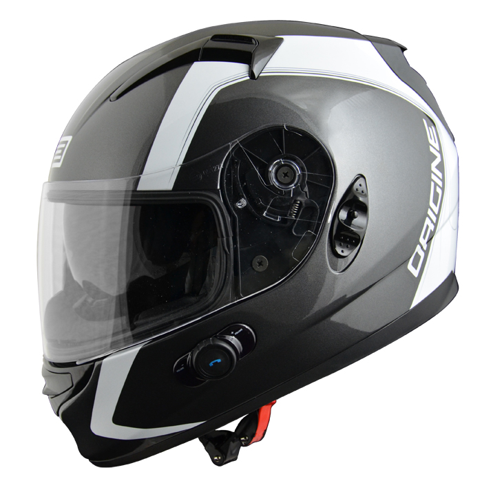 Full face helmet with intercom Origin Wind 2 spline An Blinc G2